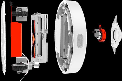 Ремонт электрических цепей Xiaomi Dreame F9